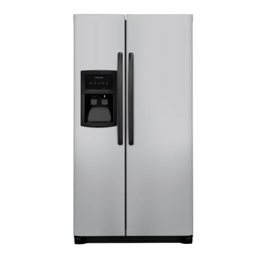 22.1 Cu. Ft. Side-by-Side Refrigerator - SILVER MIST