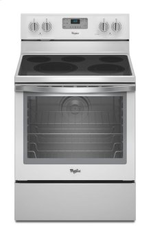6.4 Cu. Ft. Freestanding Electric Range with AquaLift® Self-Cleaning Technology ***FLOOR MODEL CLOSEOUT PRICING***