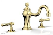 MARVELLE Deck Tub Set - Lever Handles 162-41 - Polished Brass