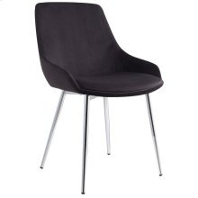 Cassidy Side Chair, set of 2, in Black