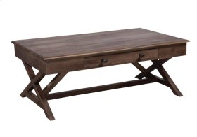 Coffee Table, Available in Espresso Finish Only.