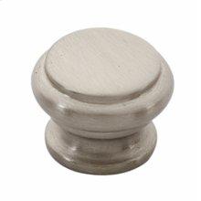Tuscany Bread Box Knob A230 - Satin Nickel