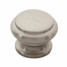 Tuscany Bread Box Knob A230 - Satin Nickel