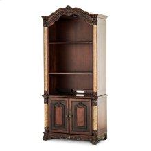 Bookcase Hutch W/2 Door Cabinet