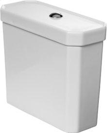 White Cistern, Water Saving 6-liter Flush