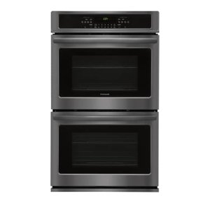 30'' Double Electric Wall Oven - BLACK STAINLESS STEEL