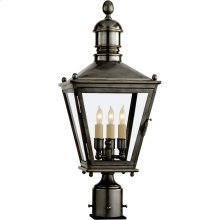 Visual Comfort CHO7031BZ E. F. Chapman Sussex 3 Light 24 inch Bronze Outdoor Post Lantern