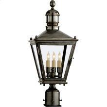 Visual Comfort CHO7031BZ E. F. Chapman Sussex 3 Light 24 inch Bronze Outdoor Post Lantern