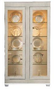 Criteria Display Cabinet in Criteria Heather Gray (363) Product Image