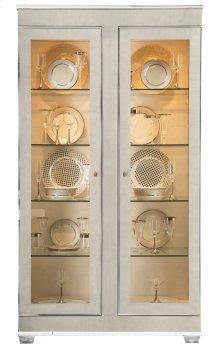 Criteria Display Cabinet in Criteria Heather Gray (363)