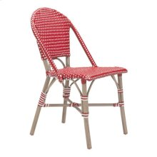 Paris Dining Chair Red&white