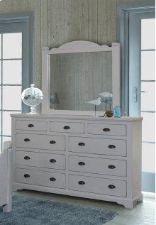 Bedroom HH-4270  9 Drawer Dresser and Mirror Set
