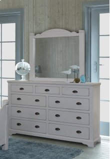 Bedroom HH-4270  9 Drawer Dresser and Mirror Set
