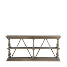 Natural Cross Console