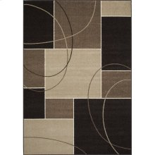 Casa 3604 Brown Taupe 6 x 8
