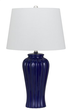150W 3 way Eunice ceramic table lamp (sold and priced as pairs)