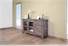 """60"""" TV Stand w/3 Drawers, 2 door w/2 shelves"""