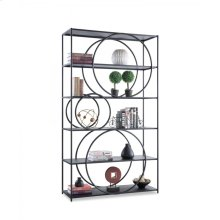 23013 PERIMETER - CONTEMPORARY IRON BOOKSHELF