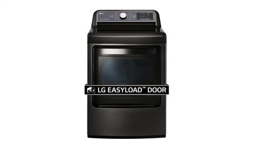 7.3 cu. ft. Ultra Large Capacity TurboSteam Gas Dryer with EasyLoad Door