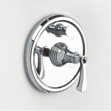 Berea Pressure-balance Valve with Diverter Trim - Polished Chrome