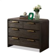 Precision Bachelor Chest Umber finish Product Image