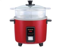 10 Cup (uncooked) Automatic Rice Cooker and Vegetable Steamer - Red - SR-Y18FGJR
