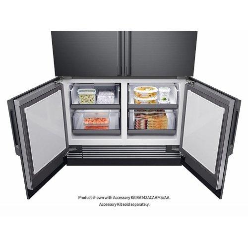 "24 cu ft. Capacity 4-Door French Door Panel Ready 42"" Built-In Chef Collection Refrigerator"