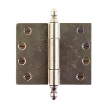 """Butt Hinge - 4"""" x 5"""" Silicon Bronze Brushed"""