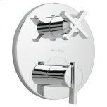 American StandardBerwick Thermostatic Shower Valve Trim Kit - Polished Chrome