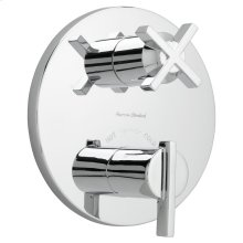 Berwick Thermostatic Shower Valve Trim Kit - Polished Chrome