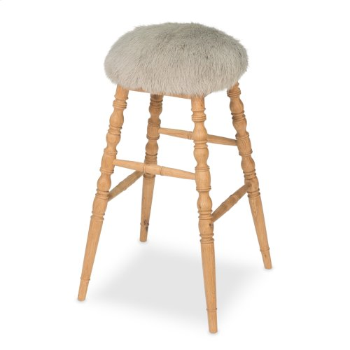 Winoma Bar Stool, Light Grey