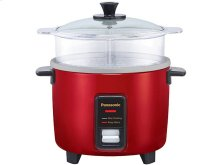 5 Cup (uncooked) Automatic Rice Cooker and Vegetable Steamer - Red - SR-W10FGER