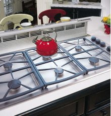 "Preference 46"" Gas Cooktop, High Altitude"