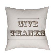 """Thanks GIV-001 20"""" x 20"""""""