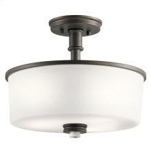 Joelson Collection Joelson 3 Light Semi Flush OZ