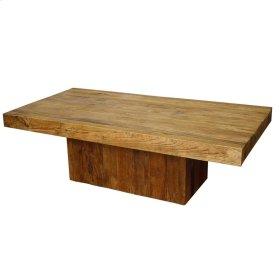Maxim Rectangular Coffee Table, Natural