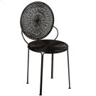 Black Spiral Wire Chair Product Image