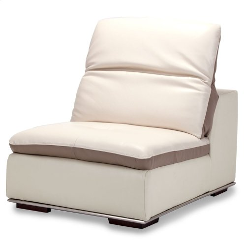 Vanuto Leather Armless Chair