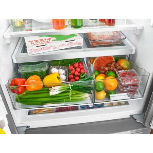 Whirlpool® 36-inch Wide French Door Refrigerator with Infinity Slide Shelves - 32 cu. ft. - Fingerprint Resistant Stainless Steel