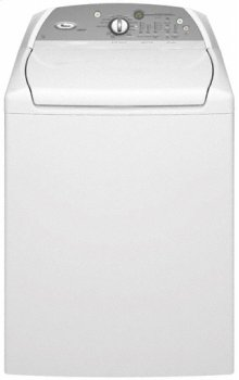 White Whirlpool® ENERGY STAR® Qualified Cabrio® 4.6 cu. ft. HE Top Load Washer