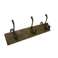 Wooden 3 Hook Hanger