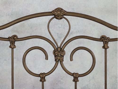 Olympia Iron Bed