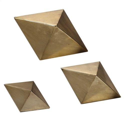 Rhombus Sculptures, S/3