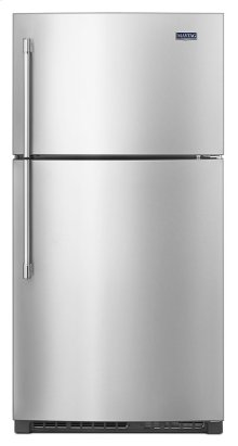 33-Inch Wide Top Freezer Refrigerator with EvenAir Cooling Tower- 21 Cu. Ft.
