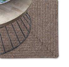 Simplicity Wood Braided Rugs