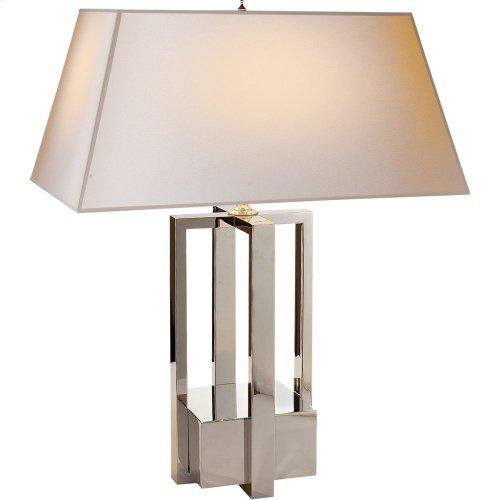 Visual Comfort AH3044PN-NP Alexa Hampton Ingrid 31 inch 75 watt Polished Nickel Decorative Table Lamp Portable Light