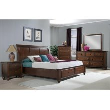 Elements Furniture CH555 Chatham Storage Bedroom set Houston Texas USA Aztec Furniture