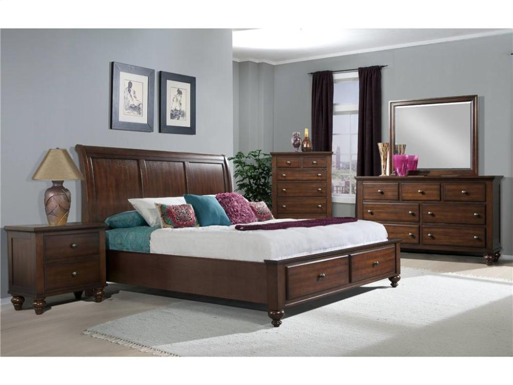 Elements Furniture CH555 Chatham Storage Bedroom Set Houston Texas USA Aztec  Furniture