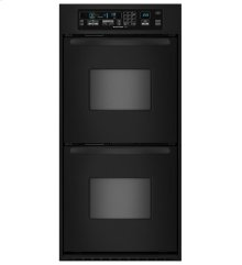 24-Inch Convection Double Wall Oven, Architect® Series II Handles - Black