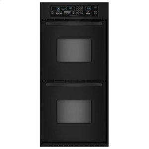 KitchenAid24-Inch Convection Double Wall Oven, Architect® Series II Handles - Black